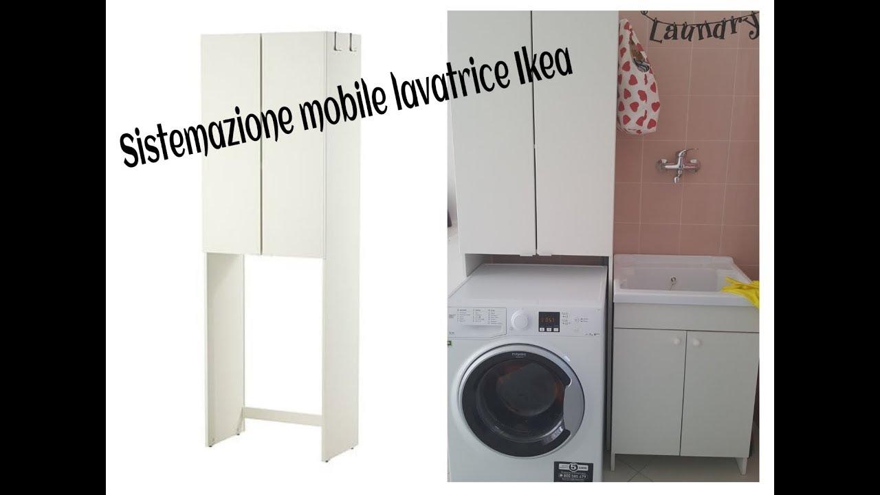 Sistemazione Mobile Lavatrice Ikea Lillangen Sistemazione Mobile