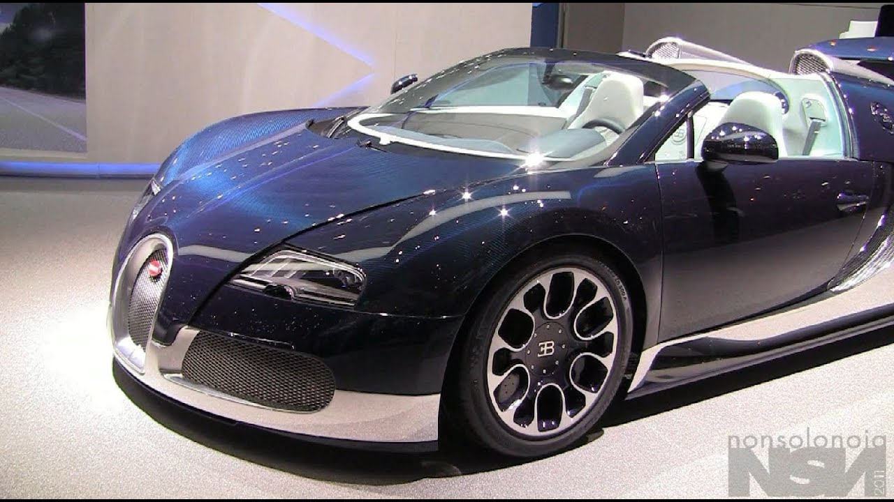 blue carbon fiber bugatti veyron gran sport geneva. Black Bedroom Furniture Sets. Home Design Ideas