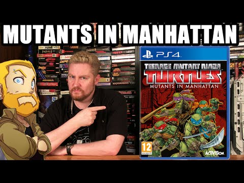 TMNT: Mutants in Manhattan (First Reaction) - Happy Console Gamer