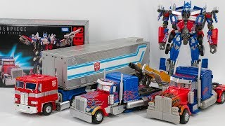 Transformers MasterPiece Movie Series MPM-4 Optimus Prime Leader Optimus Prime Car Robot T ...