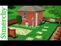 The Sims 3 Speed Build - 4x4 Challenge - Tiny House Starter Home