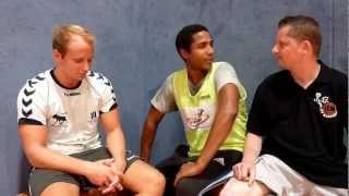 LTV Wuppertal - Handball für Wuppertal: Das Bruderinterview Schermuly und Bamidele