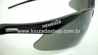 Oculos Nemesis Fume YouTube LOUZADASHOP VIDEO