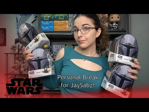 Back to Back Sketches! | 2020 TOPPS STAR WARS THE MANDALORIAN HOBBY BOX X4 OPENING FOR JAYSABZ |
