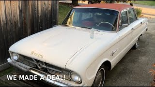 Budget Squad Car Conversion Part 1: Bringing home the donor car, Ford Frontenac