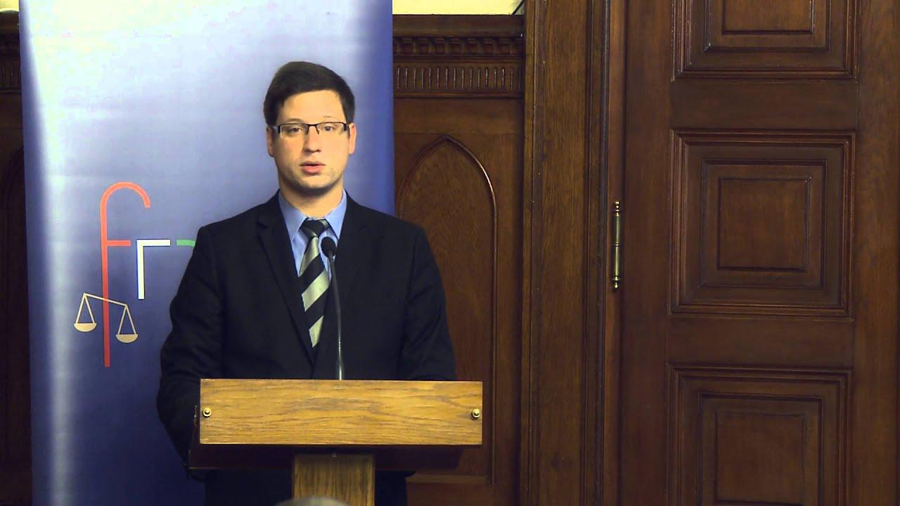 Dr. Gulyás Gergely előadása a Panasztestület ...