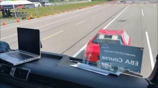 만트럭 화물 트랙터  긴급 제동 보조 시스템EBA2