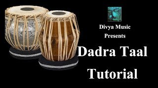 Learn playing Taal Dadra on Tabla online training lessons - Indian Tabla instructors online