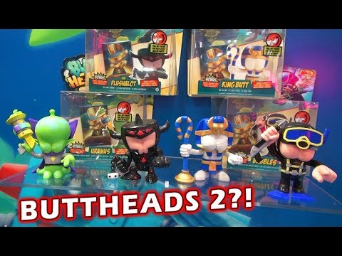 BUTT HEADS Toys Wrestling SERIES 2 Action Figures - Toy Fair 2019