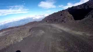 DOWNHILL DOWN THE VOLCANO