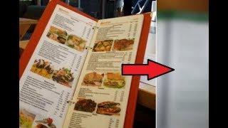 Если в ресторане вам вынесли подобное меню, вставайте и уходите. И вот почему