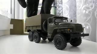 "Урал-4320  и ГАЗ-66 ""ОМОН"" в масштабе 1/43"