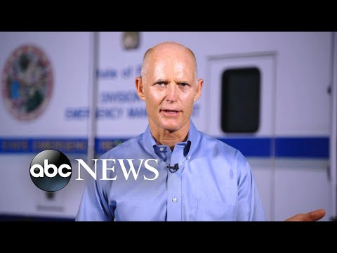 Florida governor discusses preparations as Hurricane Irma nears