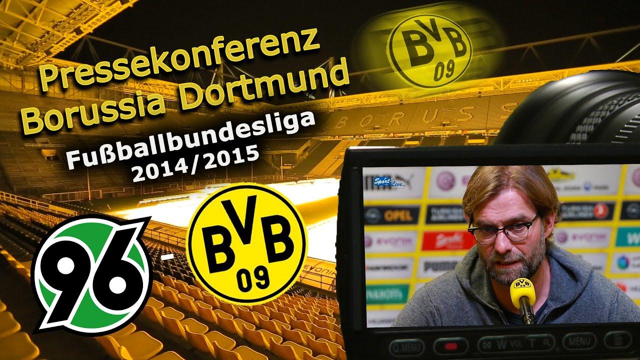 BVB Pressekonferenz vor Hannover 96 - Borussia Dortmund 21.03.15