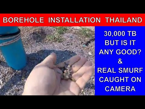 COST OF BOREHOLE SETUP THAILAND Borehole installation off grid living Rural life Thailand Homestead