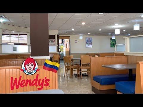 Visitando WENDY'S en VENEZUELA | GLADYS SEARA