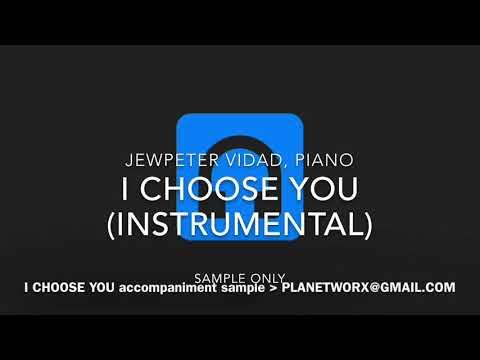 I Choose You (ryann darling)  instrumental...
