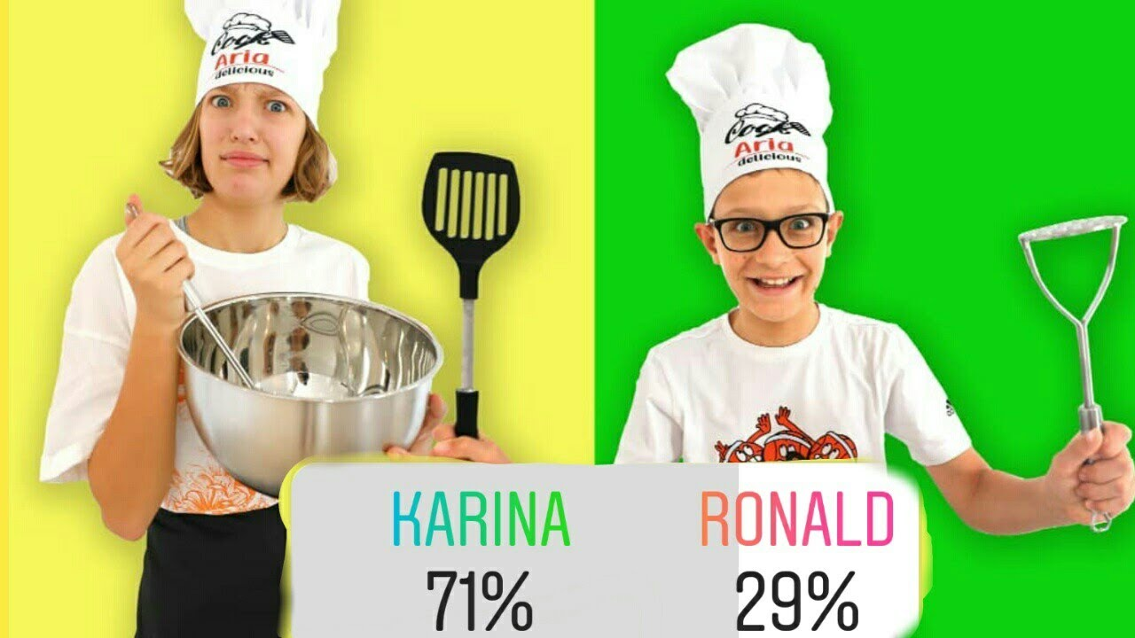 Karina is going to WIN!!! (Oops Ronald)😭
