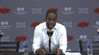 OSU Basketball: Boynton on Cowboys loss to Mountaineers