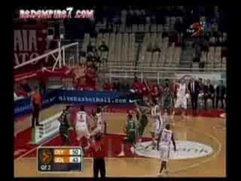 Olympiakos - Olimpija L. 113-80 Kalyteres Faseis