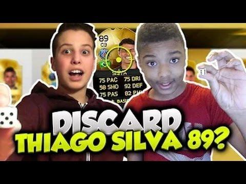 FUT 16 : DISCARD THIAGO SILVA 89 !! PAIR OU IMPAIR DRAFT
