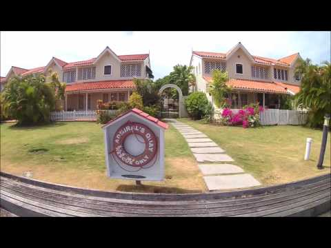St Lucia Holiday Villa, Rodney Bay - 16 Admirals Quay, Garden, Pool & Dock