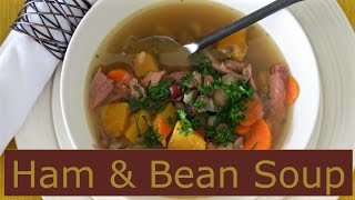 Ham and Bean Soup -- Left Over Ham Recipes _- The Frugal Chef