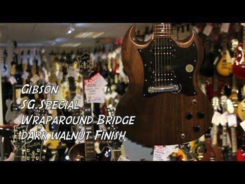 Gibson SG Special Wraparound Bridge in Dark Walnut - Quick Look @ Nevada Music UK