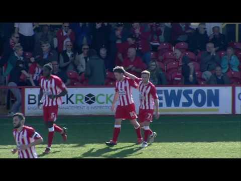 Accrington Stanley 3-2 Crewe Alexandra: Sky Bet League Two Highlights 2016/17 Season