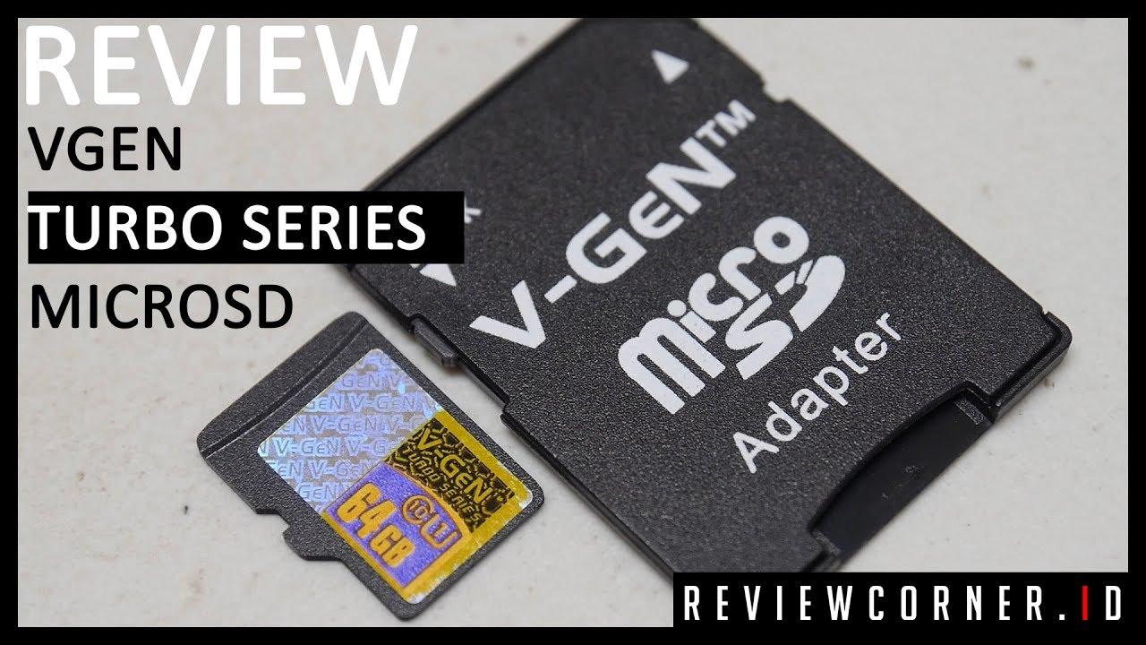 Review Vgen Turbo Series Microsd Bahasa Indonesia Youtube V Gen 64gb Adapter Hyper 98mb S