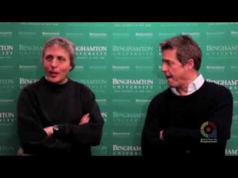 """Hugh Grant & Marc Lawrence chat about """"The Rewrite"""", taking place in Binghamton, NY"""