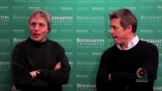 "Hugh Grant & Marc Lawrence Chat About ""The Rewrite"", Taking Place In Binghamton, NY"