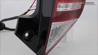 2012-2014 Toyota Prius C Light Bar Style LED Tail Lights