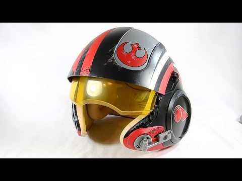 Casco Poe Dameron - Star Wars Black - Series en Español