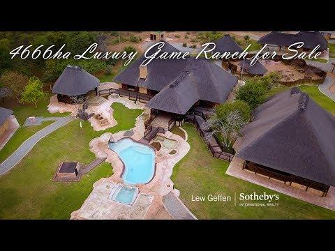 Bespoke, luxury game farm for sale