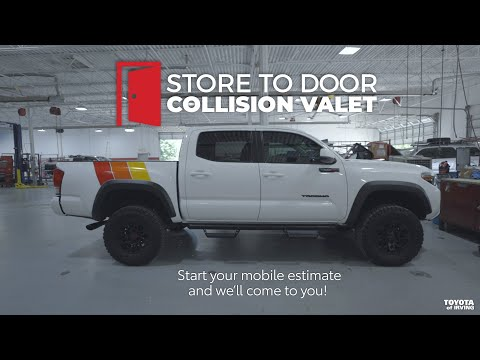 Store To Door Collision Valet | Contact-free Service | Toyota Of Irving In Dallas Fort Worth