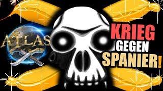 Atlas EU PvP Server #3 Krieg gegen Spanier | Atlas Gameplay German | Atlas Deutsch