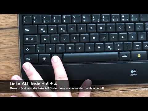 @ Zeichen: Notfall-Trick Per ASCII Code!