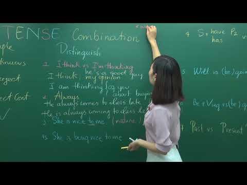 Phân Biệt Các Thì Trong Tiếng Anh - Lớp 12 - Cô Hương Fiona - PEN-I 2018