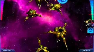 Astro Avenger 2 boss battle CRAZY ROCKET SHOOTER!