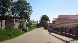 Marcinowa Wola na Mazurach - przejazd od strony Miłek w stronę wsi Cieżpięty
