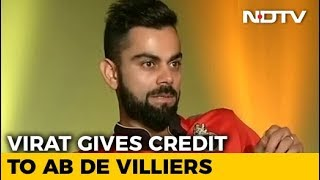 Virat Emotional Message For AB De Villers