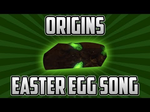 "NEW Origins ""EASTER EGG"" Song Tutorial - How To Activate The Green 115 Rocks ORIGINS Zombies"