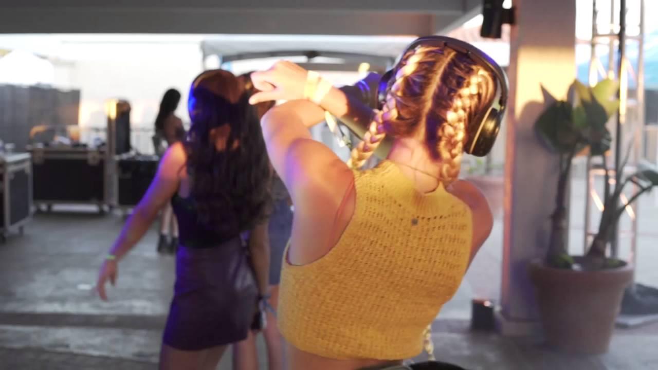 DJ Byrd @ Kaaboo Music Festival ~ Silent Disco