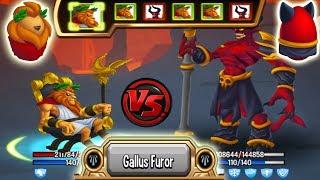 🔴Monster Legends - Layth level 130 vs Barbatos level 130😱 combat review