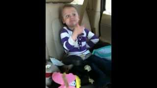 my four year old niece singing none of your business by salt n pepa she is one of a kind