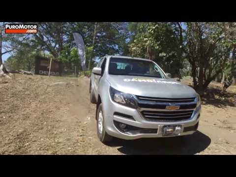 TEST DRIVE 4X4 CHEVROLET COLORADO 2017 PURO MOTOR