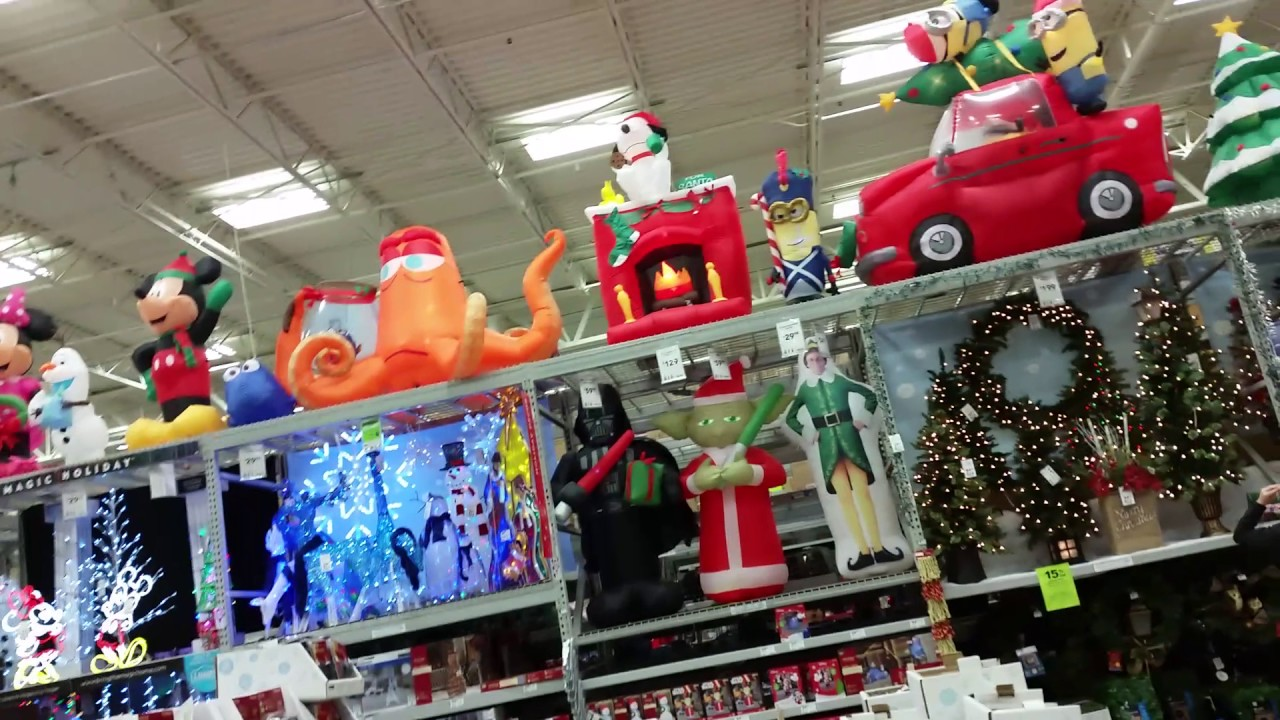 lowes christmas decorations 2016 kyles inflatables and animatronics channel - Lowes Blow Up Christmas Decorations
