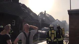 SIEGBURG: 32 Verletzte bei Brand an ICE-Strecke