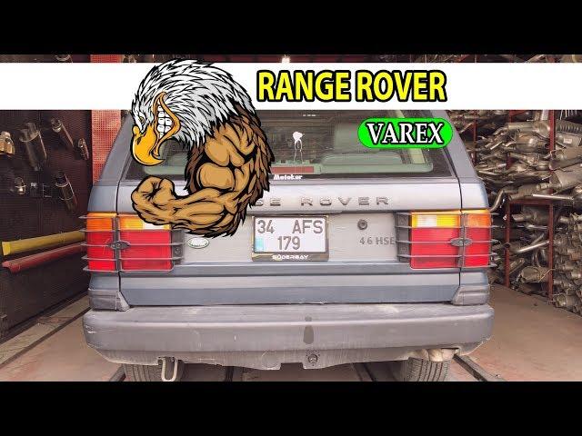 RANGE ROVER 4.6 VAREX EGZOZ SESİ